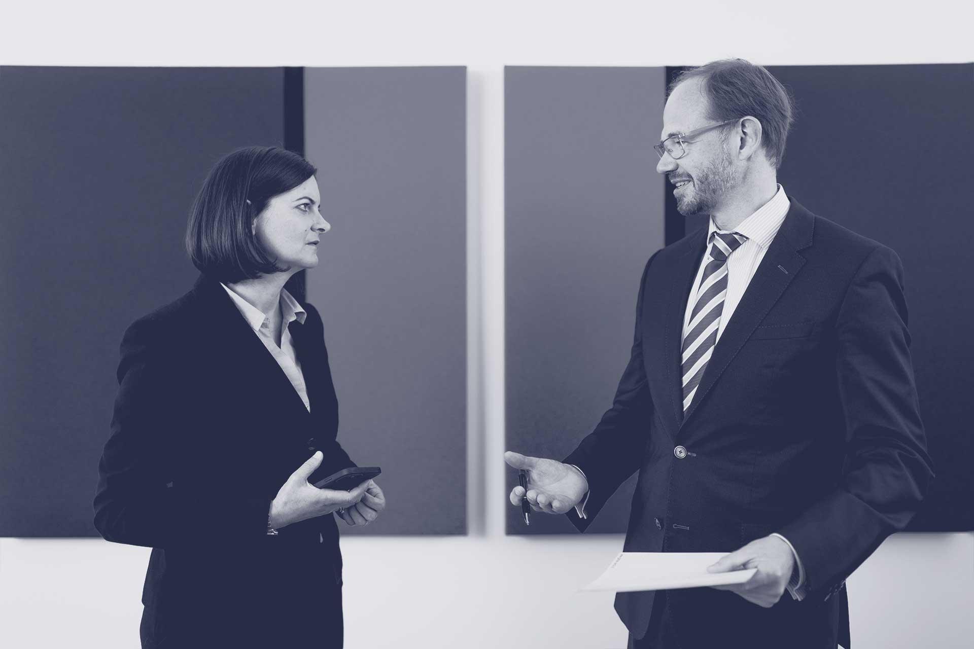 Rechtsanwälte Mag. Wolfgang Gartner und Mag. Dr. Isabella Zwickl-Festl